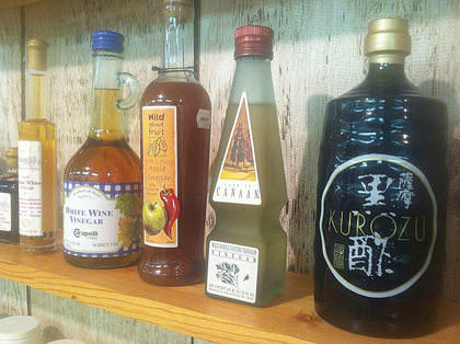 Rare vinegars from around the world are on display at the International Vinegar Museum in Roslyn. Each vinegar is processed from a different substrate, according to vinegar expert and Roslyn resident Lawrence Diggs.