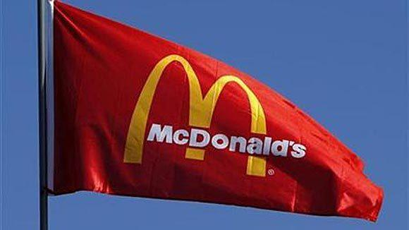 McDonald's profit rose 4 percent in the second-quarter on slightly higher global sales.