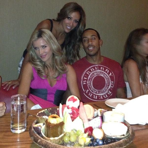 Celeb-spotting around South Florida - Melissa Gorga, Joanna Krupa and Ludacris