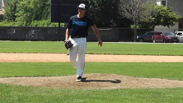 Nazareth pitcher Joe Nelson was impressive during summer league action