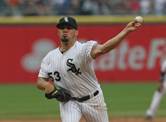 Sox pitcher Hector Santiago