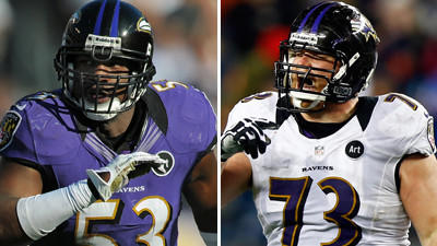 Jameel McClain, Marshal Yanda placed on physically unable to pe…