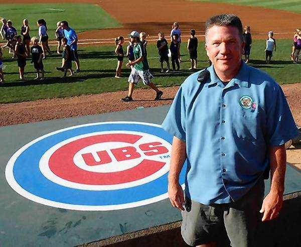 Kane County Cougars general manager Curtis Haug.