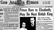 Graphic: Royal births - From Prince Charles to Baby Cambridge