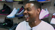 Rapper Tree buys shoes before Pitchfork performance