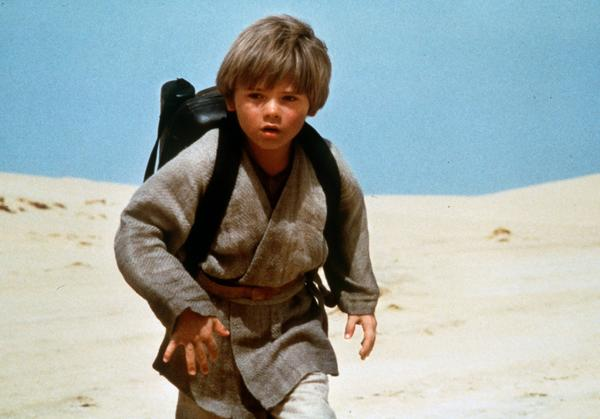 "Jake Lloyd as young Anakin Skywalker in ""Star Wars: Episode I- The Phantom Menace."" Before the sands shifted..."