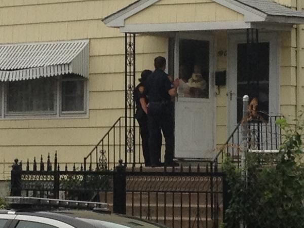 Azyrah Rhoden, an 11-month-old baby who was reported abducted in New Haven, is recovered by police in Bridgeport on Monday afternoon.