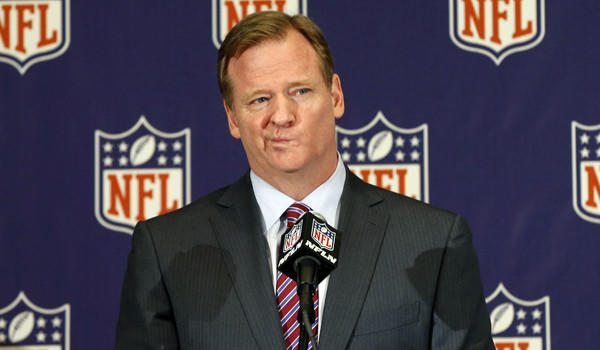 NFL Commissioner Roger Goodell hasn't been able to strike a deal with the NFL Players Assn. on HGH testing.