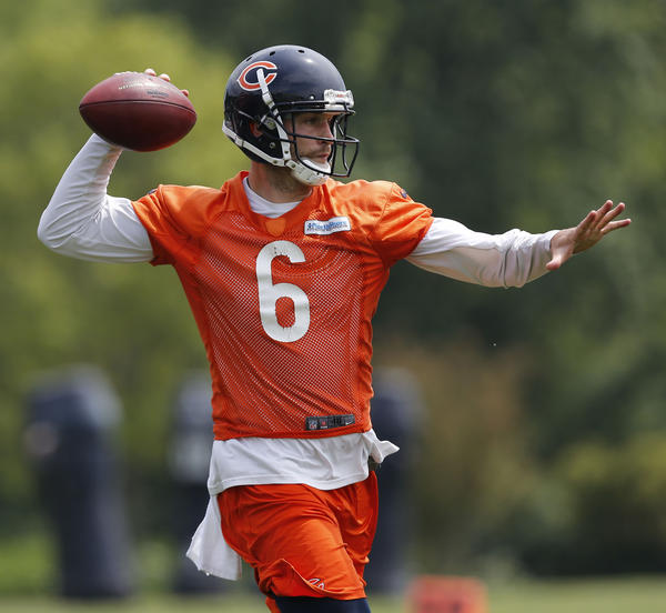 Chicago Bears quarterback Jay Cutler.