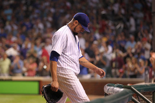 Former Cubs pitcher Matt Garza. (Chris Sweda/Tribune Photo)