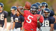 Virginia's Mike London declares Watford top QB heading into practices