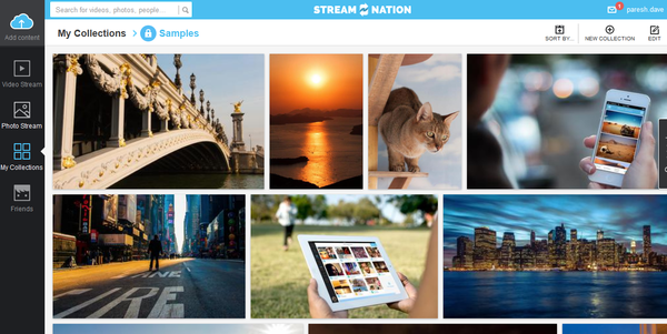 Stream Nation stores photos and videos online