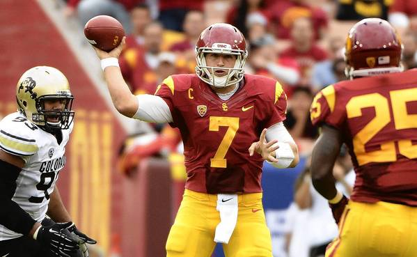 Rookie quarterback Matt Barkley, formerly of USC, has indicated he's ready to compete for the Eagles starting job.