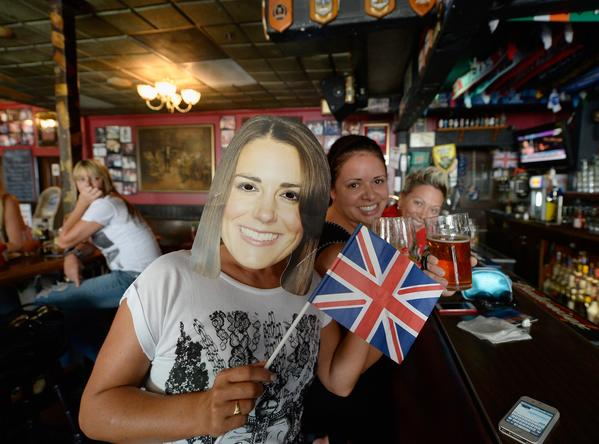 Royal baby celebrations