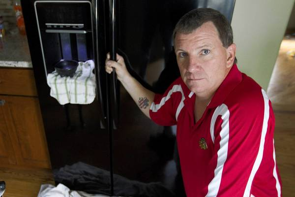 Thomas McCollom's $2,099 Whirlpool refrigerator worked well for three months, then started spewing water.