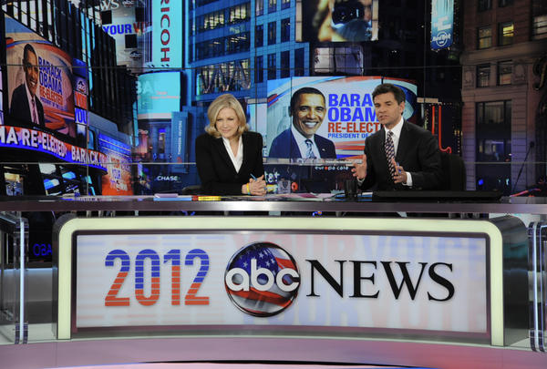 ABC News anchors DIANE SAWYER, GEORGE STEPHANOPOULOS