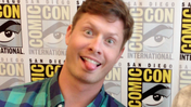 Anders Holm at San Diego Comic Con 2013