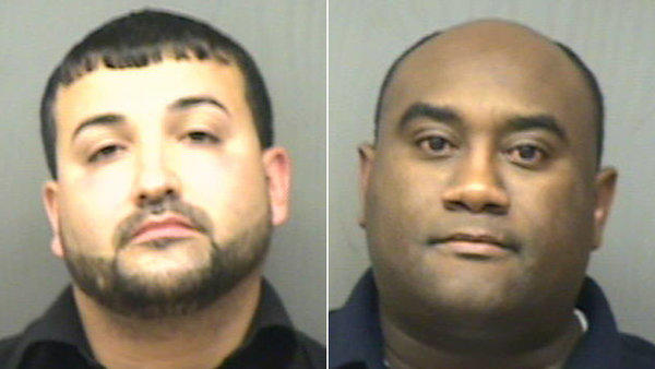 Police say Jonathan Hernandez, 32, and Nuecell V. Butler, 41, agreed to pay an undercover officer for sexual favors.