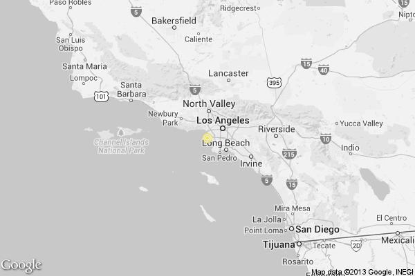 Earthquake 25 quake strikes near El Segundo latimes
