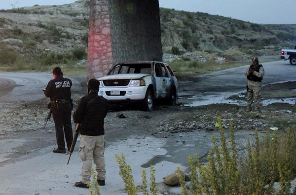 Mexican police found bodies of five people