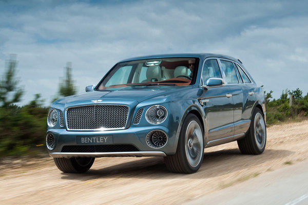 Bentley concept SUV