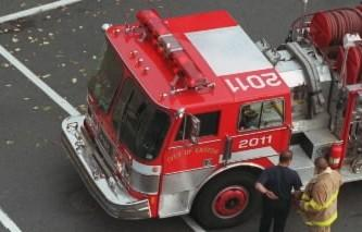 Easton will sell this fire truck, pictured here in 2003, at a public auction on Aug. 10.