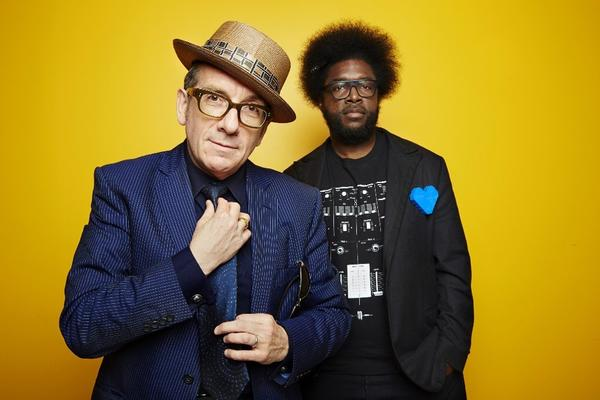 Elvis Costello and Ahmir 'Questlove' Thompson