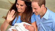 Royal baby, a blond, goes home; 'he's got her looks,' prince says