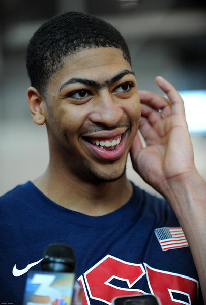 New Orleans Pelicans center Anthony Davis expects to have to earn his place on Team USA.