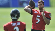 Flacco says title and contract won't alter his role as a leader