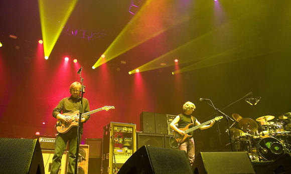 Phish is set to play three shows at Hampton Coliseum in October.