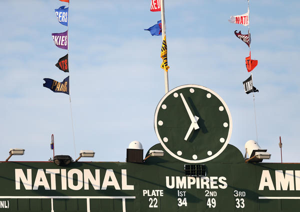 The Wrigley scoreboard is nice and all, but fans could really use a Jumbotron.