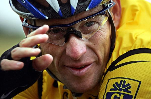 "Lance Armstrong, the disgraced cyclist at the center of the upcoming documentary ""The Armstrong Lie."""