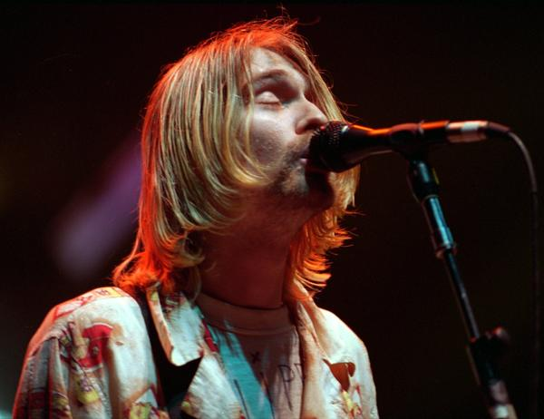 Nirvana's Kurt Cobain died in 1994