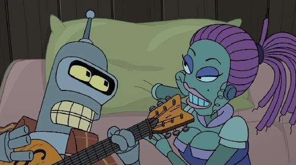 "A scene from ""Futurama"""