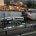 Train derailment in Spain