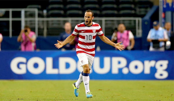 Landon Donovan put two goals on the board for the U.S. national team in a 3-1 victory over Honduras.