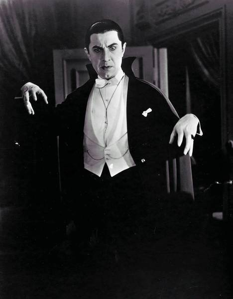 "Bela Lugosi in ""Dracula."""
