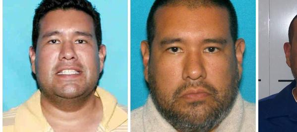 A combination picture shows photos of Anthony Joseph Garcia taken in, left to right, 2006, 2012 and after his arrest in Illinois on July 15, 2013.