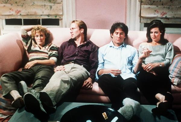 "From left: Glenn Close, William Hurt, Kevin Kline and JoBeth Williams star in ""The Big Chill."""