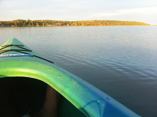 The Inland Waterway, including Burt Lake pictured here, in Emmet and Cheboygan counties is being designated a heritage water trail for paddlers, after a new Coastal Zone Management grant was awarded to the Northeast Michigan Council of Governments.