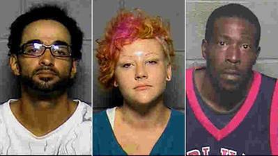 Jose Rodriguez, Meaghan Cowles y Anthony Hudson han sido acusados en el caso.