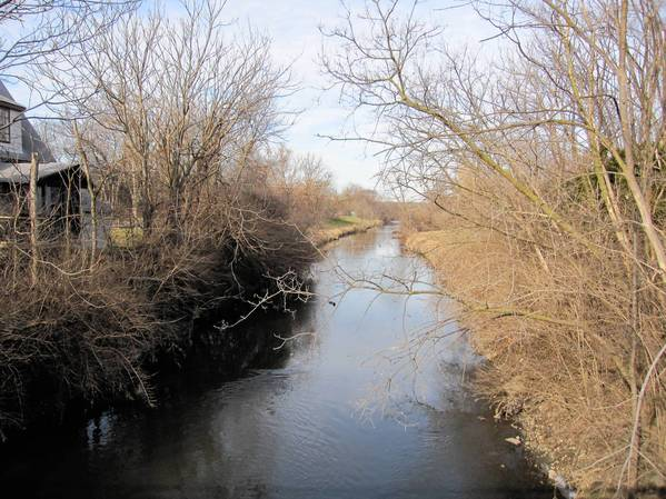 Three creeks carry storm water out of Downers Grove and feed into the East Branch of the DuPage River.