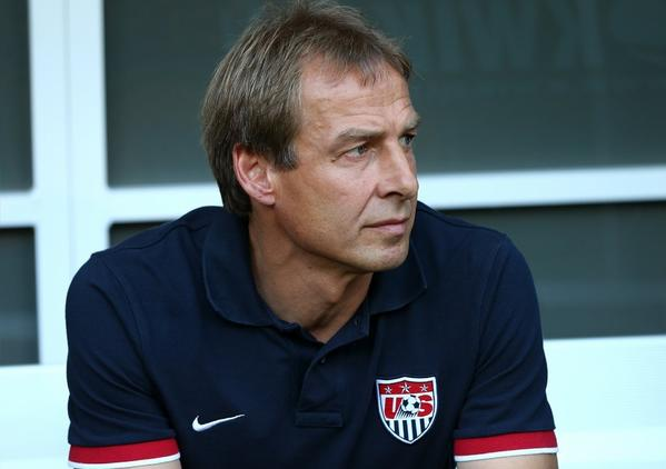 U.S. Coach Juergen Klinsmann might miss the Gold Cup final.