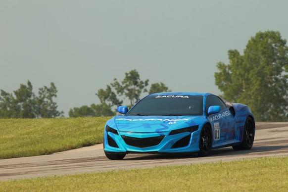 Acura's forthcoming NSX prototype will break cover at Mid-Ohio Raceway on Aug. 4.