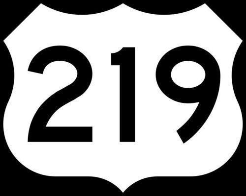 The Route 219 emblem.