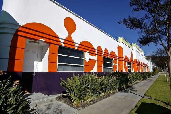 Nickelodeon Animation studios in Burbank.