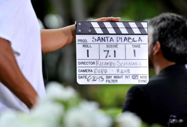 "Telemundo is filming its newest telenovela ""Santa Diabla"" throughout Broward."
