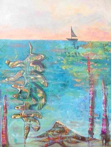 """""""Wonders of the Sea,"""" by Linda McInnis."""