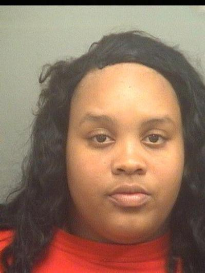 Caniece Worthy, 23, is accused of failing to take her 2-year-old daughter to the hospital after the child suffered second degree burns.